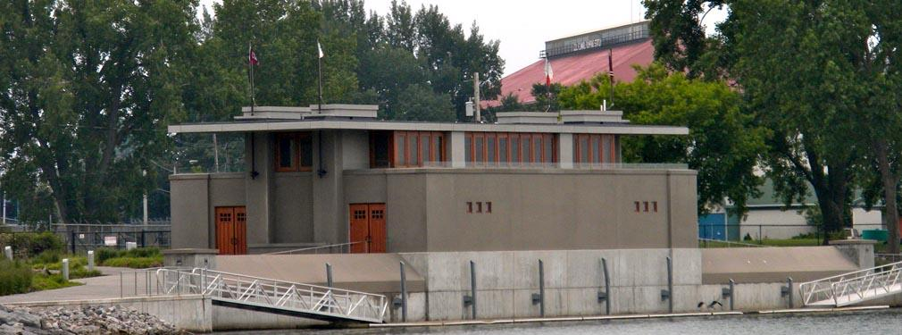 Fontana Frank Lloyd Wright Boathouse